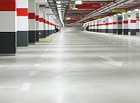 Betoninės pramoninės grindys